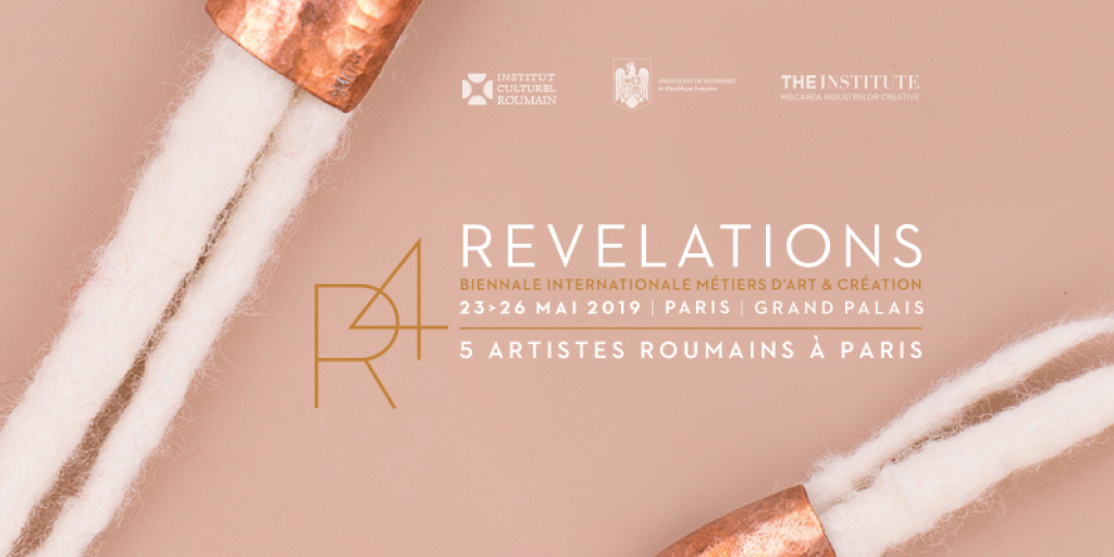 Romania, in premiera la Bienala meseriilor artistice si industriilor creative Revelations de la Paris
