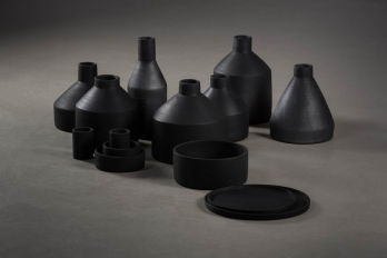 Olah Gyarfas, Black Ceramics for Patzaikin