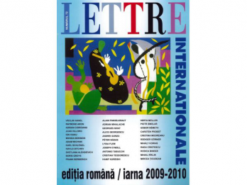 Revista LETTRE INTERNATIONALE (nr 72)