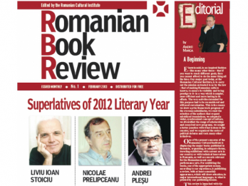 Romanian Book Review nr 1