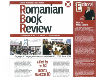 Romanian Book Review nr 3